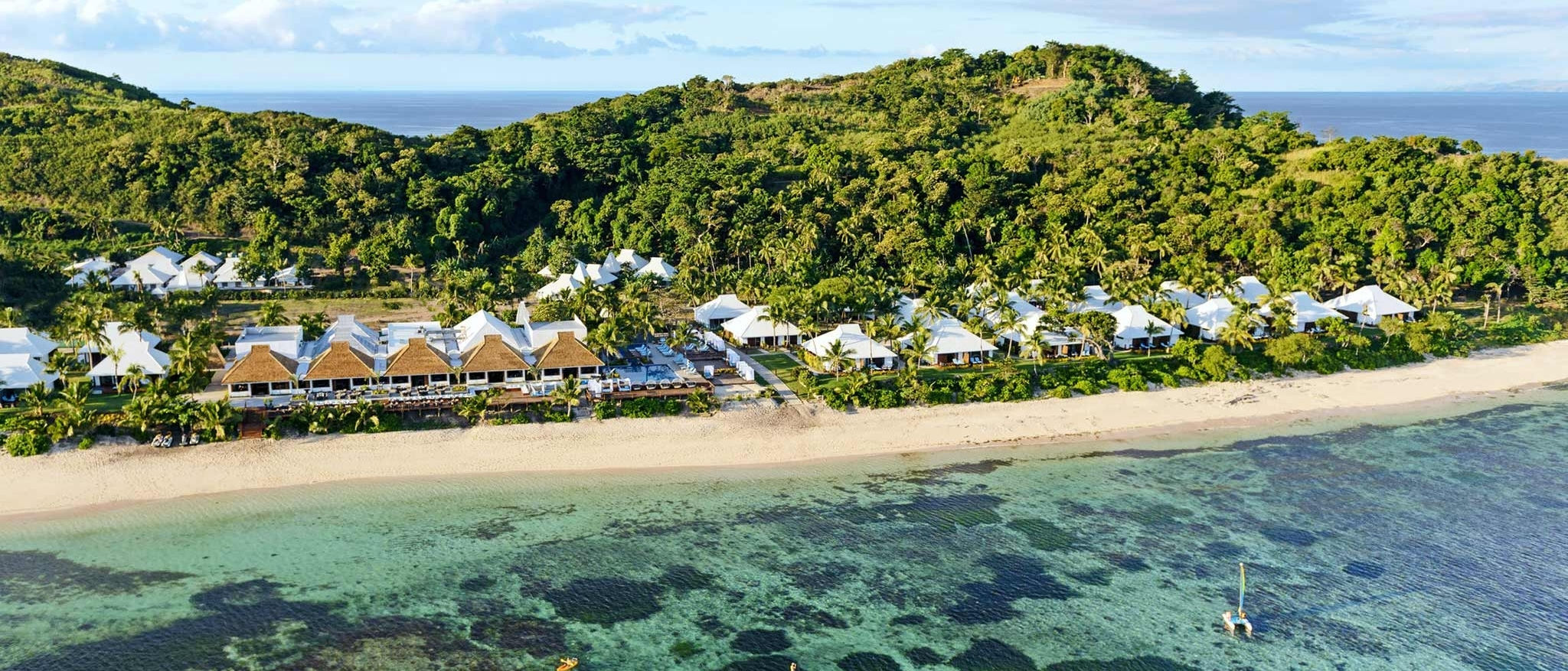 Sheraton Resort & Spa Tokoriki Island - Aerial View